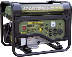 Sportsman Gas Powered Portable Generator Review
