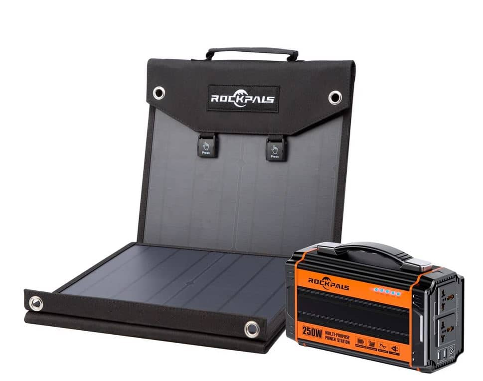 Rockpals 250W Solar Panel Kit